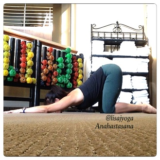 Anahastasana Lisa Jang Yoga