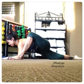 Yin Yoga Dragon @lisajangyoga
