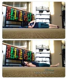 Chest opener Yoga